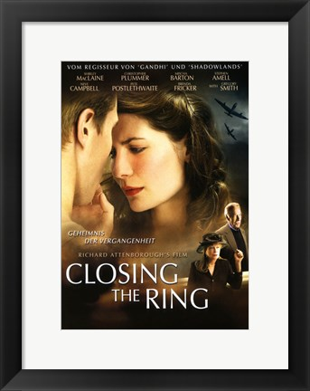 Framed Closing the Ring - two couples Print