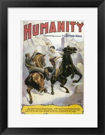Framed Humanity (Broadway) Print