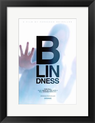 Framed Blindness B-Lin-Dness Print