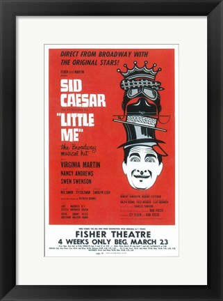 Framed Little Me (Broadway) Print