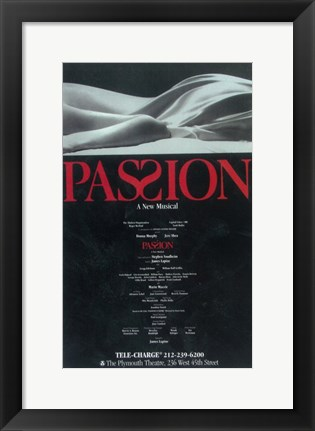 Framed Passion (Broadway) Print