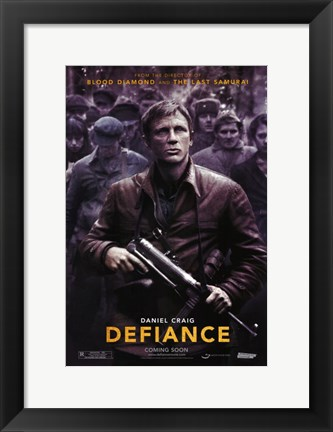 Framed Defiance, c.2009 - style A Print