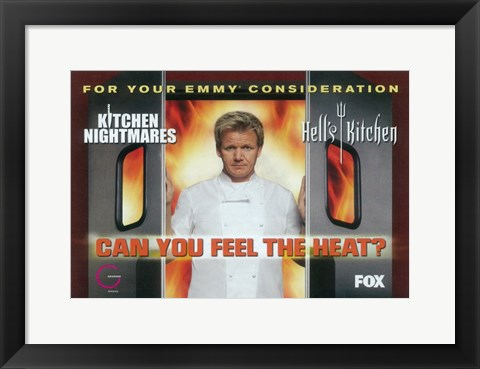 Framed Hells Kitchen Print