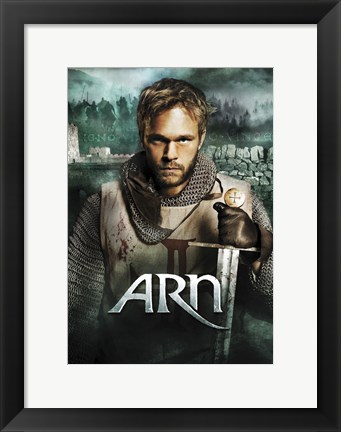 Framed Arn: The Knight Templar Print