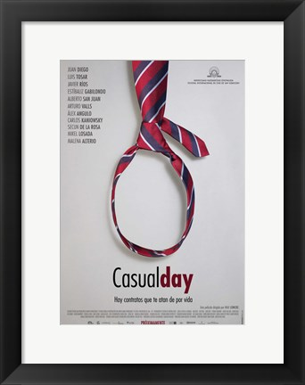 Framed Casual Day Print