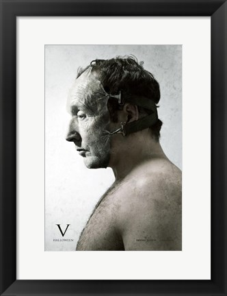 Framed Saw V Tobin Bell Print
