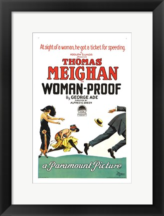 Framed Woman-Proof Print