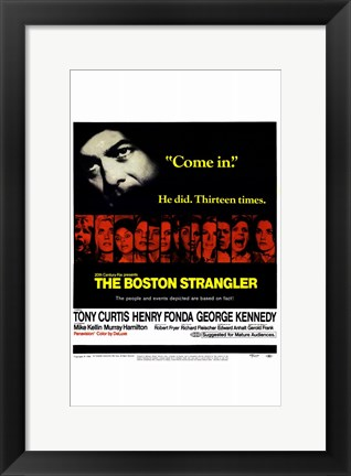 Framed Boston Strangler Print