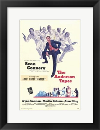 Framed Anderson Tapes Print