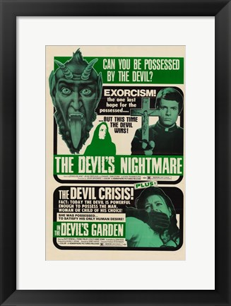 Framed Devils Nightmare Print