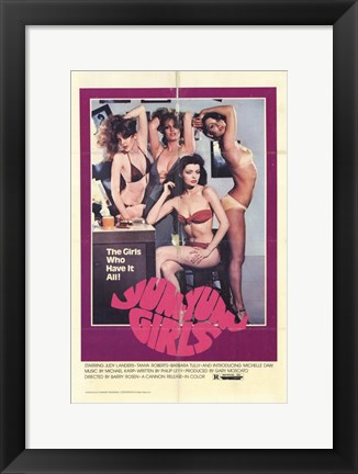 Framed Yum-Yum Girls Print