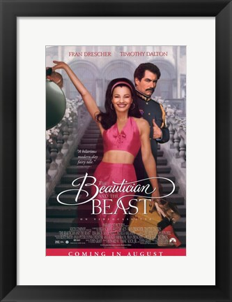 Framed Beautician and the Beast Print