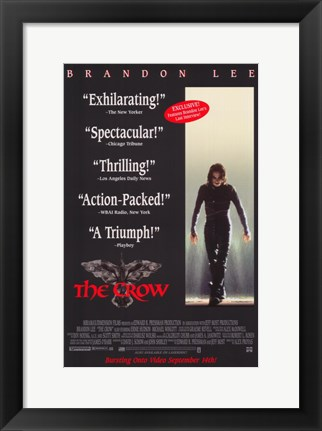 Framed Crow Cult Classic Print