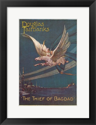 Framed Thief of Bagdad 1924 Print
