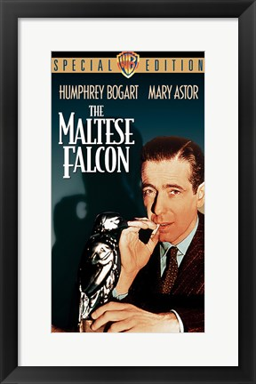 Framed Maltese Falcon Special Edition Print