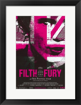 Framed Filth and the Fury Print