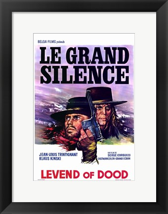 Framed Big Silence Print