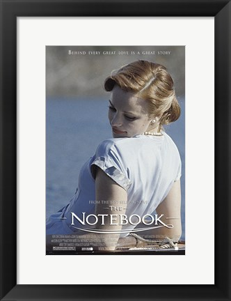 Framed Notebook Rachel McAdams Print