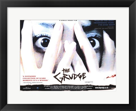 Framed Grudge Scary Print