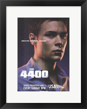 Framed 4400 - abducted, returned, changed Print