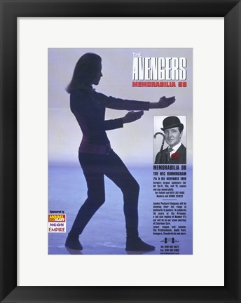 Framed Avengers Training Print