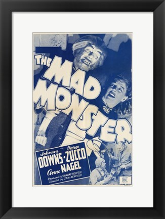 Framed Mad Monster Print