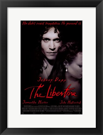 Framed Libertine Print
