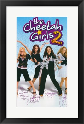 Framed Cheetah Girls 2 Print