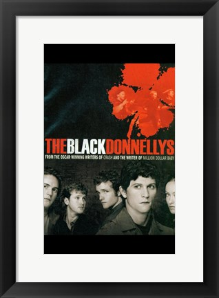 Framed Black Donnellys Print