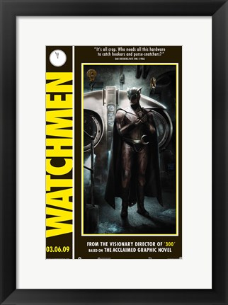 Framed Watchmen - style C Print
