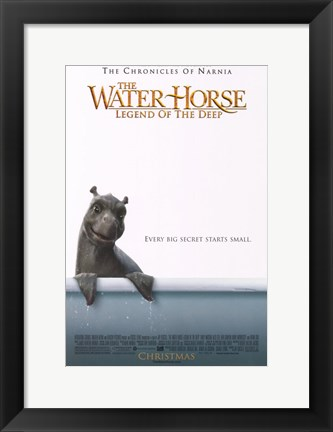 Framed Water Horse: Legend of the Deep (movie poster) Print