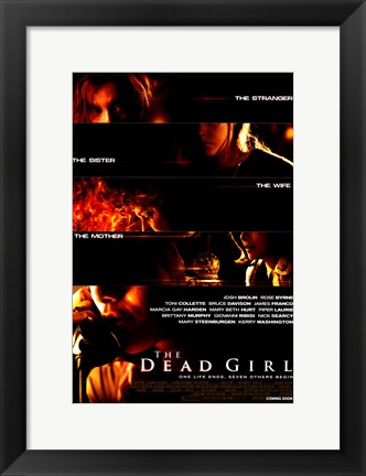 Framed Dead Girl Print