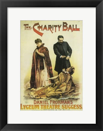 Framed (Broadway) Charity Ball Print