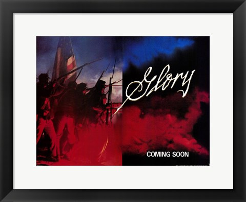 Framed Glory Open Fire Print