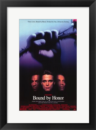 Framed Blood In. . .Blood Out: Bound by Honor Print