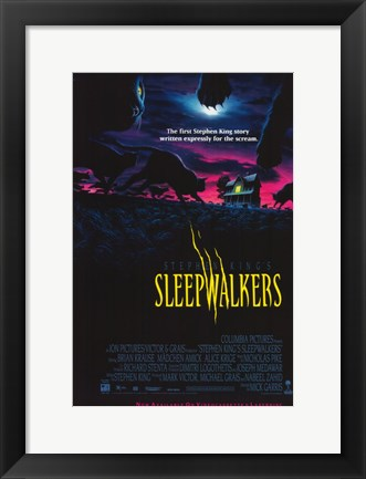 Framed Sleepwalkers Print