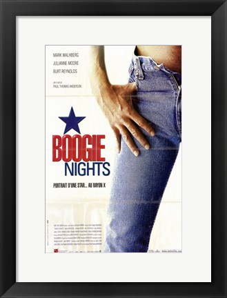 Framed Boogie Nights - Jeans Print
