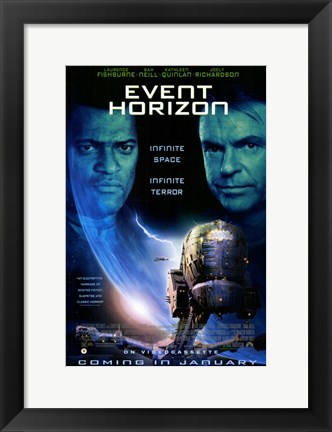Framed Event Horizon Fishburne And Neill Print