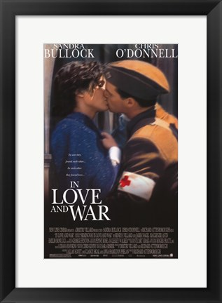 Framed In Love and War Print