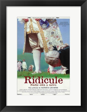 Framed Ridicule Print