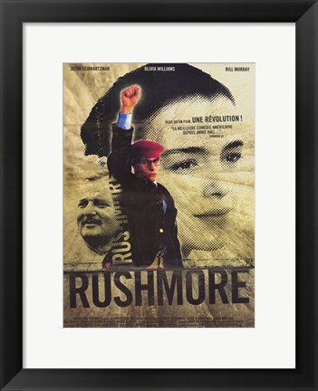 Framed Rushmore French Print