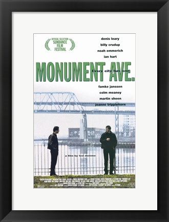 Framed Monument Ave. Print