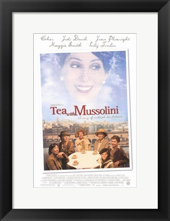 Framed Tea With Mussolini Print