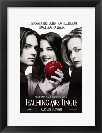Framed Teaching Mrs. Tingle Print