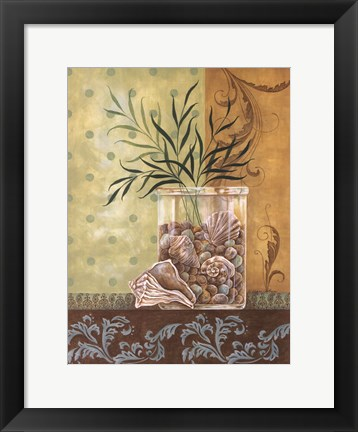 Framed Seagrass Splendor Print