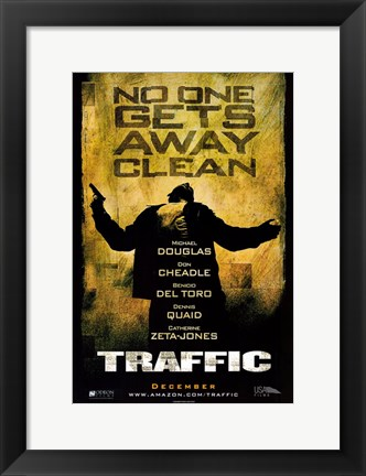 Framed Traffic - No One Gets Away Clean Print