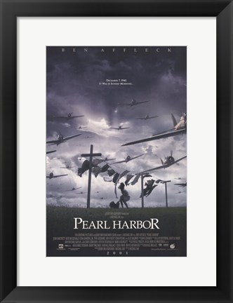 Framed Pearl Harbor Clothing Print