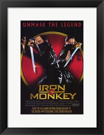 Framed Iron Monkey Print