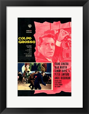 Framed Oceans 11 Colpo Grosso Print