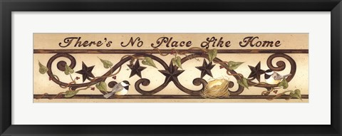 Framed No Place Like Home Print